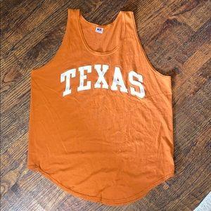 Vintage 90's TEXAS Basketball Tee Mens XL